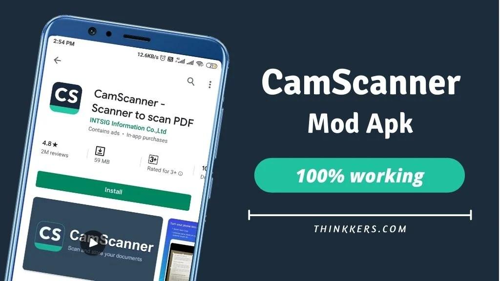 Camscanner Pro Apk