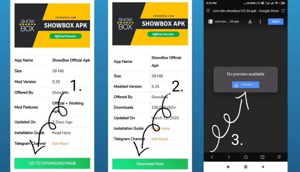 download showbox official apk