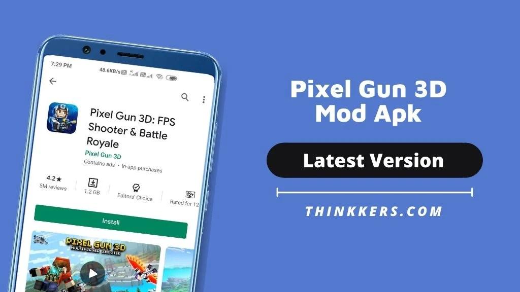 Pixel Gun 3D Mod apk - Copy