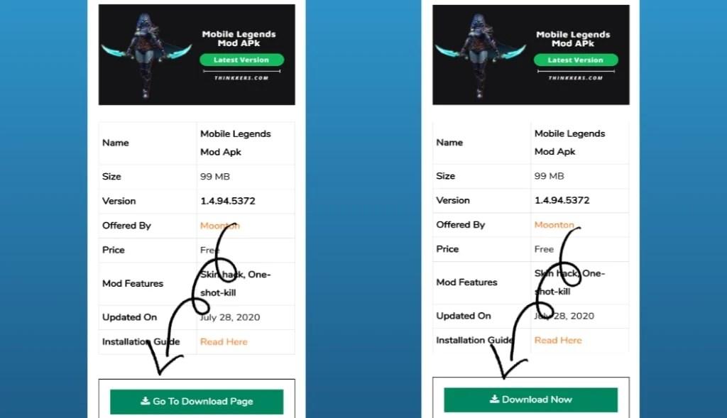 mobile legends mod apk download