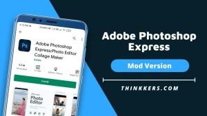 Adobe Photoshop Express Mod Apk