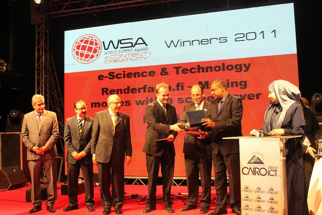 Egypt hosted WSA awarding ceremony within the events of Cairo ICT  conference