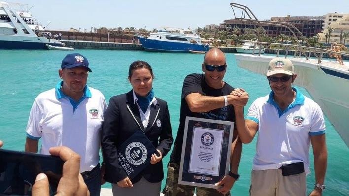 New world record price for the Champ Ahmed Gabr