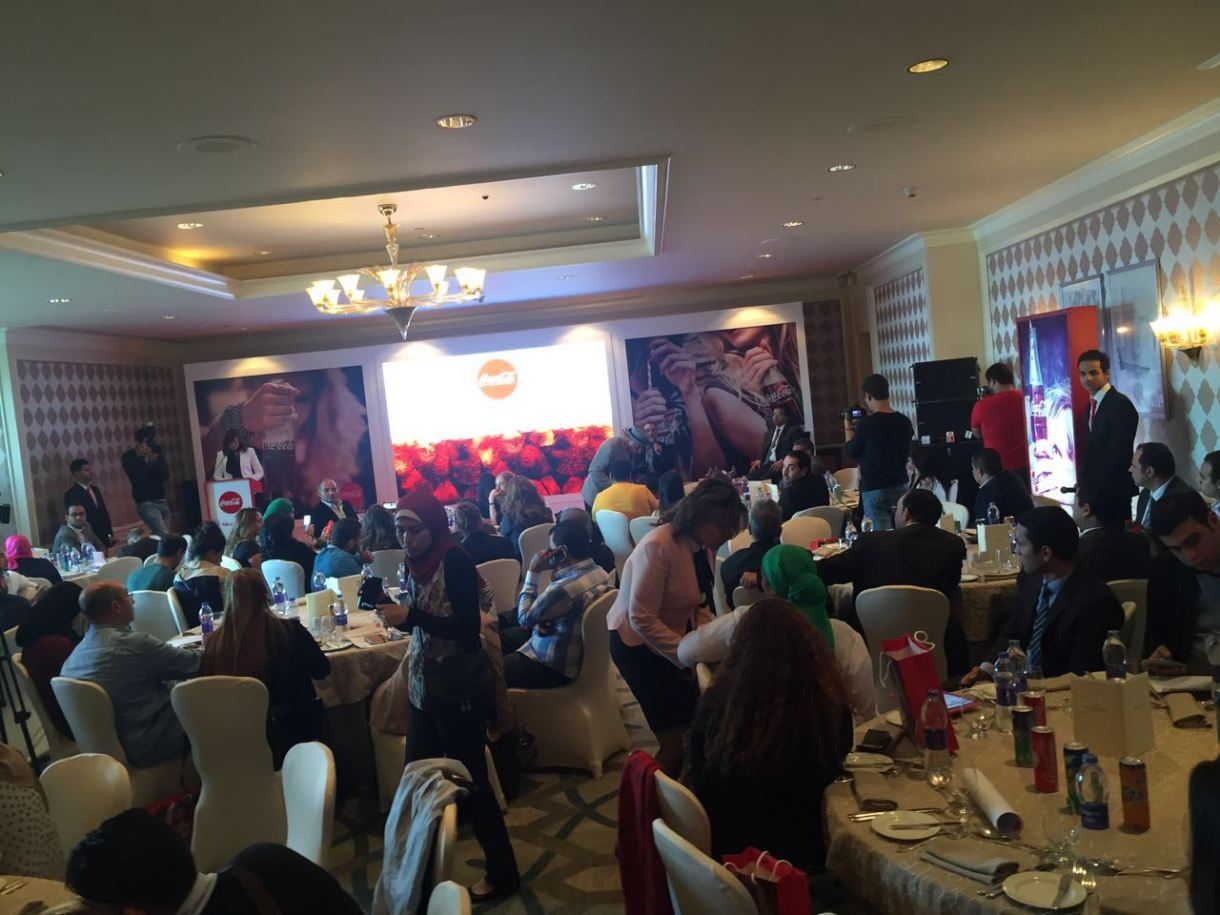 Coca-Cola Egypt launches its unified marketing campaign Taste the feeling Press Conference