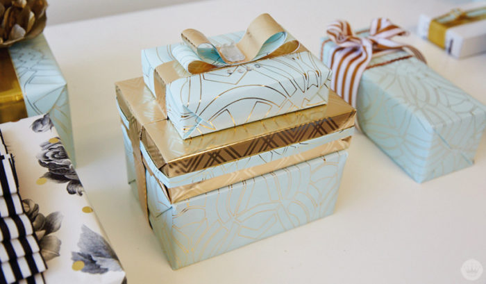 Wedding Gift Wrap Ideas: Something Old And New