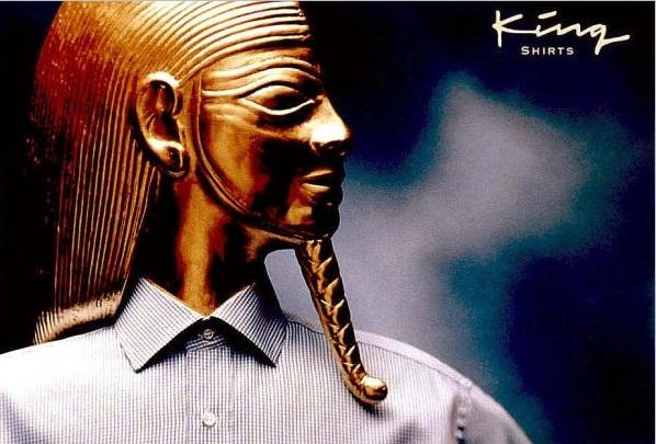 King Shirts EGYPTIAN Print Ad by