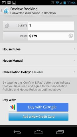 Google Wallet Instant Buy makes it easier to buy stuff on your phone.