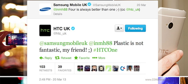 HTC UK vs Samsung Mobile UK