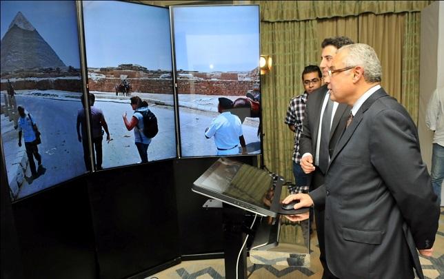 Hisham Zaazou, Minister of Tourism in Egypt, stated 'Google Maps Street View