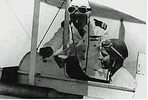 Egypt's Lotfia El Nadi, one of the first female pilots in the world, and the youngest to be licensed in 1933. (Courtesy Egypt Air Force)