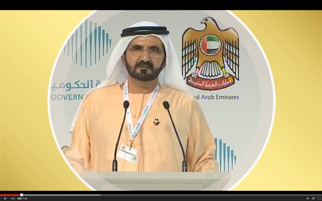 Shaikh Mohammed bin Rashid Al Maktoum, Vice-President and Prime Minister of the UAE and Ruler of Dubai, launched the official UAE government YouTube channel last June