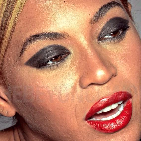 Unretouched Beyoncé Photos