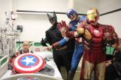 Superheroes in 57357 Children's Cancer Hospital 10