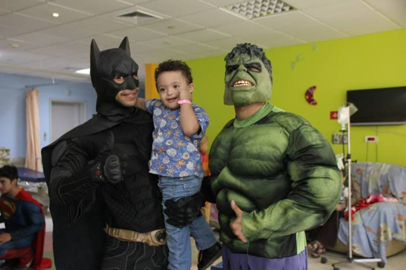 Superheroes in 57357 Children's Cancer Hospital 9