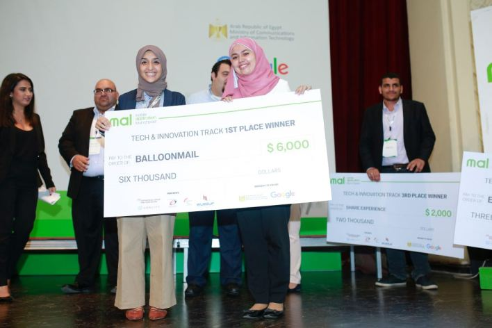 The startup winners of the first competition of the Mobile App Launchpad Program (MAL) led by Google