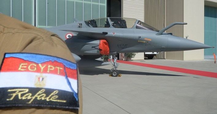 France Delivers First Rafales to Egypt
