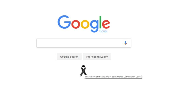google-black-ribbon-sympathy-egypt-saint-marks-cathedral-attacks