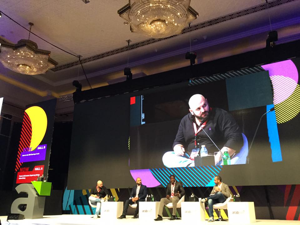 Native Advertising Panel with Hussein M. Dajani and guest panelist at Arab Net ME