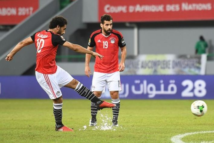 Egypt's Mohamed Salah crushes a free-kick for 1-0 win over Ghana - AFCON 2017 (Photo: Getty)