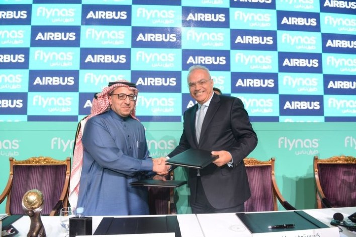 Flynas and Airbus 120 A320neo Aircraft Agreement Signing