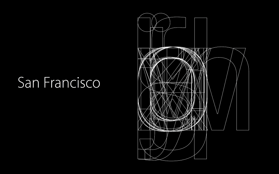 Apple's New San Francisco Fonts