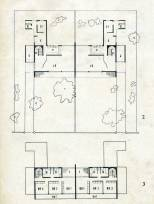 Plans, Twin Houses in Colombo, 1938