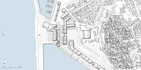Proposal for the Waterfront, Crotone, Italy [Venice Biennale 2006]. 06