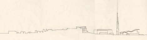 Proposal for the Waterfront, Crotone, Italy [Venice Biennale 2006]. 08