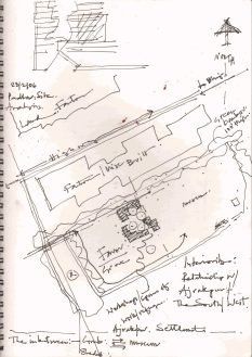 LLDC, Ajrakhpur, Kutch [2015], drawn by Uday Andhare