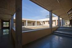 Residential Block: View of the entryway