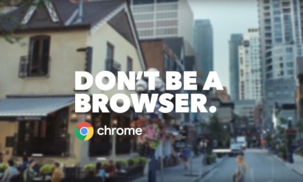 AdWatch: Google Chrome | Don't Be A Browser