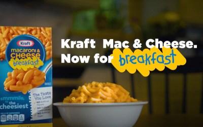 AdWatch: Kraft | Mac & Cheese For Breakfast