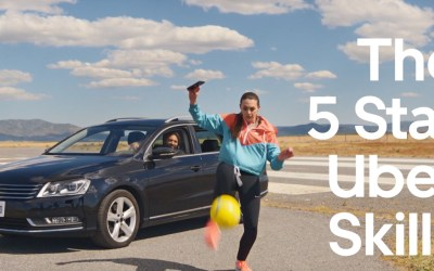 AdWatch: Uber | The 5 Star Uber Skills With Indi Cowie