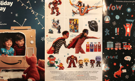 Amazon Delivers First Printed Kids Holiday Toy Catalog