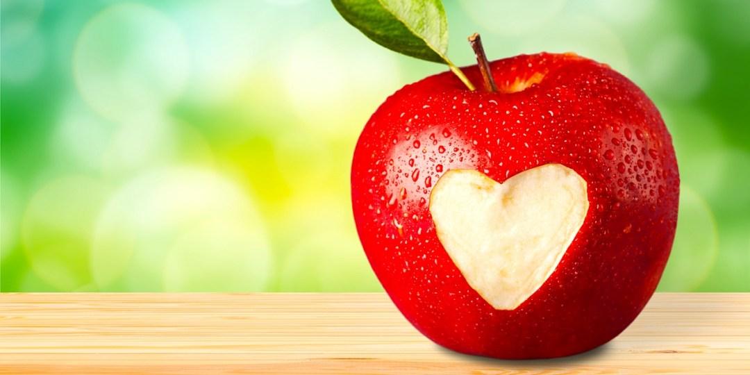 Apple Valentine's Day