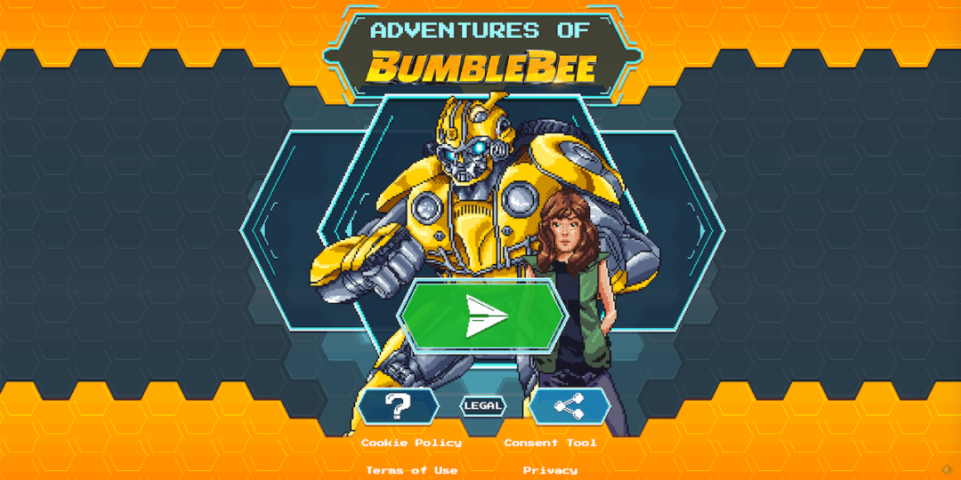 Bumblebee Online Old-School Game
