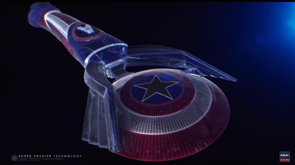Captain America Gillette Razor