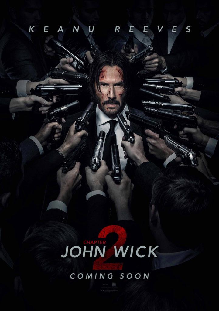 John Wick Circle of Guns Poster