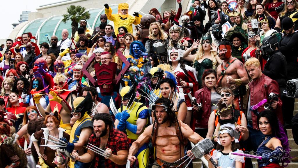 Comic Con 2016 Marvel Cosplay