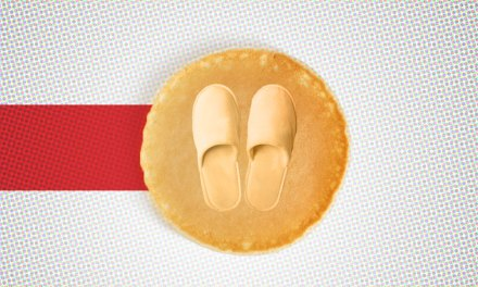 Denny's Promo Involves Cozy Pancake Slippers