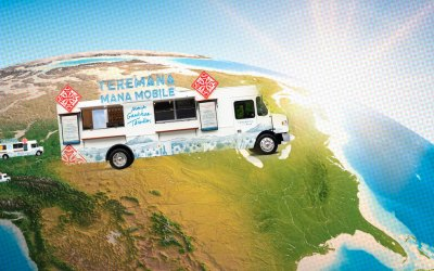 The Rock's Tequila Hits the Road in its Cocktail Tour Bus
