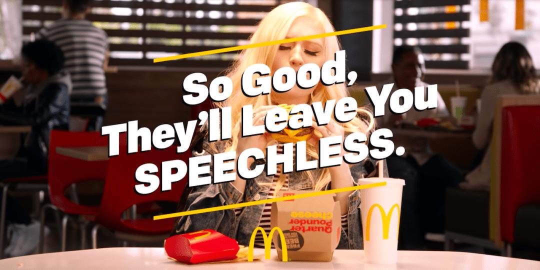 McDonalds Speechless Ad Series