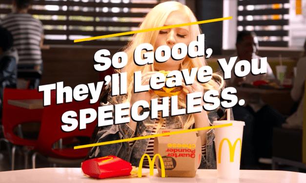 McDonald's Ad Series Takes Celebrity Voices Away