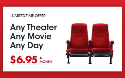 MoviePass Making Moves with Limited-Time Price Drop