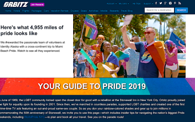 Orbitz Travels with Pride