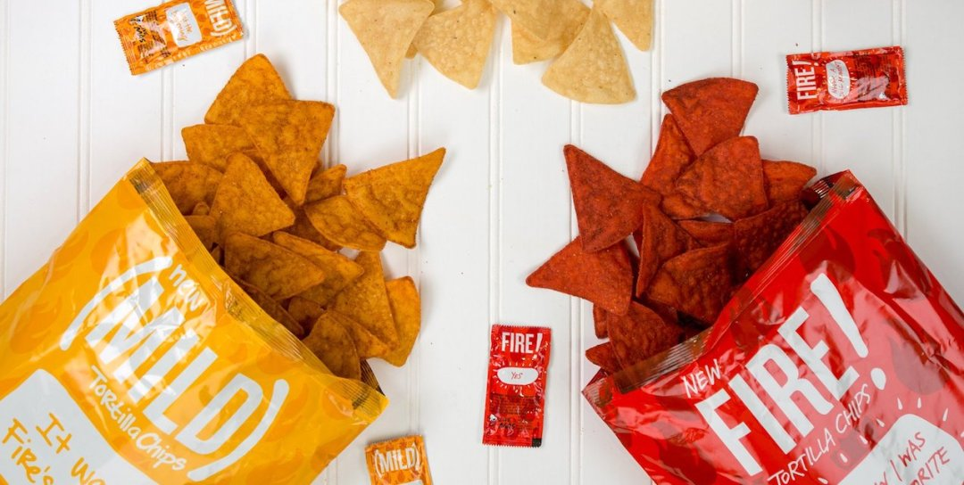 Taco Bell Sauce Inspired Chips