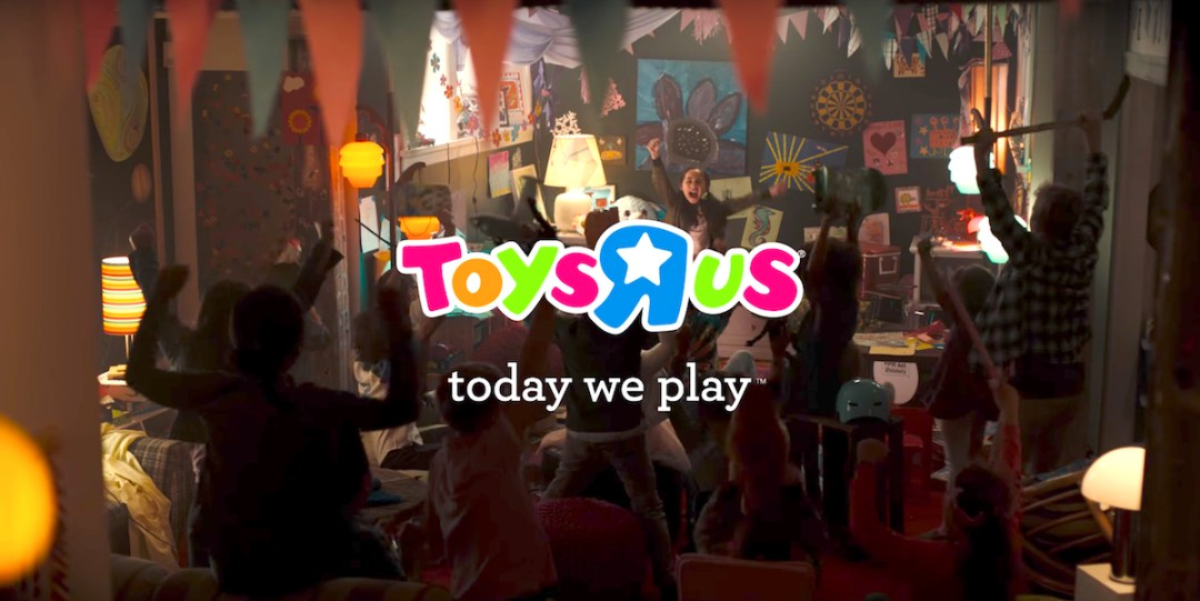 Toys R Us Today We Play Branding