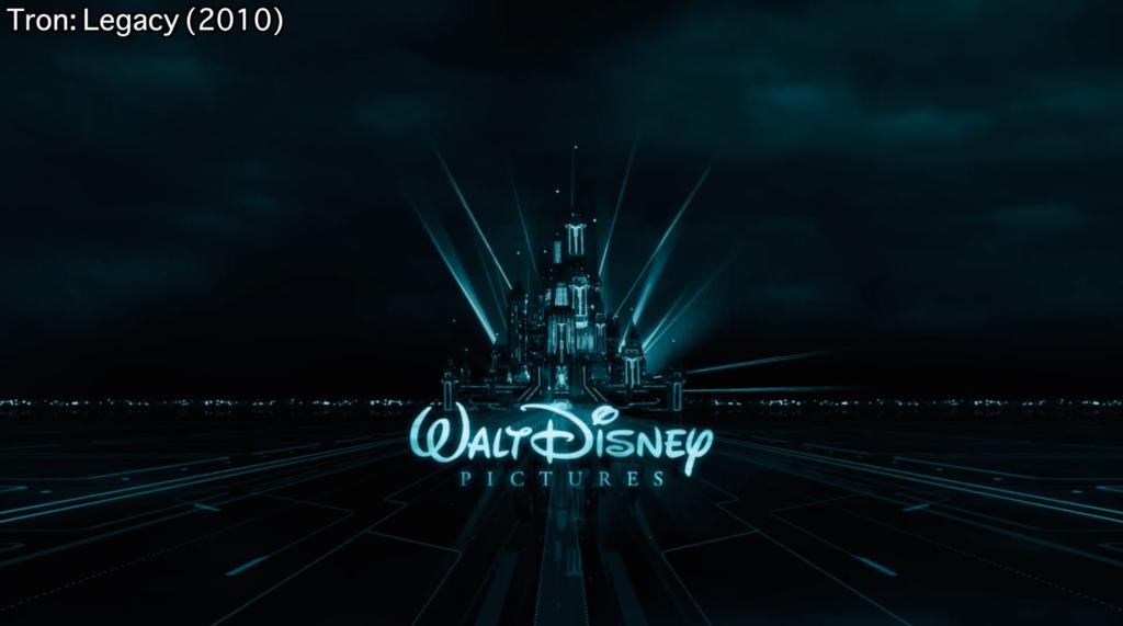 Tron Legacy Disney Logo