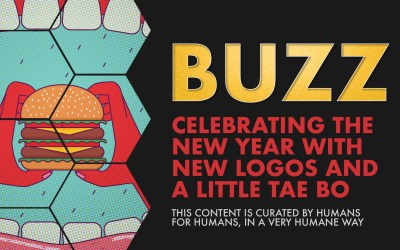 Weekly Buzz: Celebrating the New Year with New Logos and a Little Tae Bo