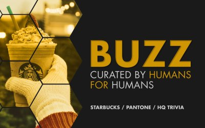 Weekly Buzz: Starbucks, Pantone & HQ Trivia